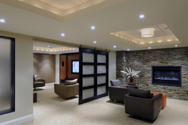 modern basement color ideas decorating